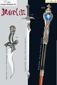 MARTO SWORDS MERLIN