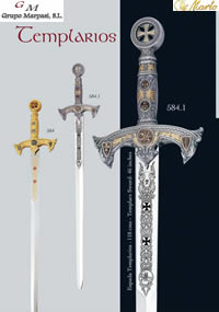 swords SWORDS TEMPLARIOS