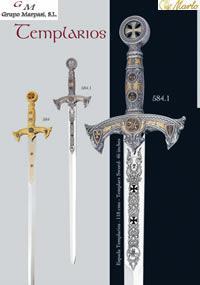 MARTO SWORDS TEMPLARIOS