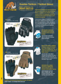 objects personal  TACTICAL GLOVES MASTODON
