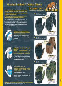 objects personal  TACTICAL GLOVES COMBAT OPS