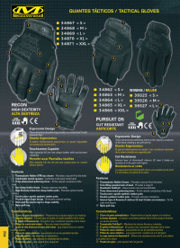 objetos personales vestimenta GUANTES MECHANIX WEAR