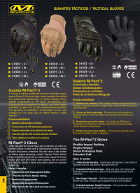 objects personal  GLOVES M-PACT MECHANIX WEAR