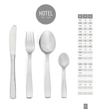 kitchen utensils table cutlery HOTEL