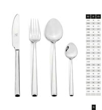 kitchen utensils table cutlery VIENA