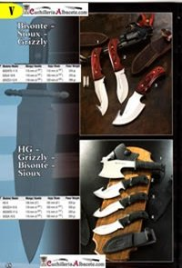 MUELA KNIVES MUELA BISONTE SIOUX GRIZZLY