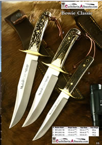 KNIVES MUELA BOWIE CLASSIC