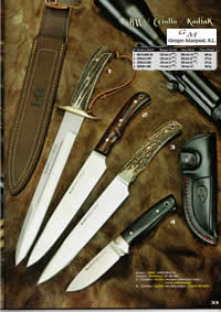 MUELA COUTEAUX CHASSE BW CRIOLLO KODIAK