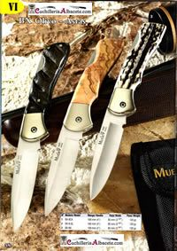 pocketknives hunting POCKETKNIVES MUELA  BX