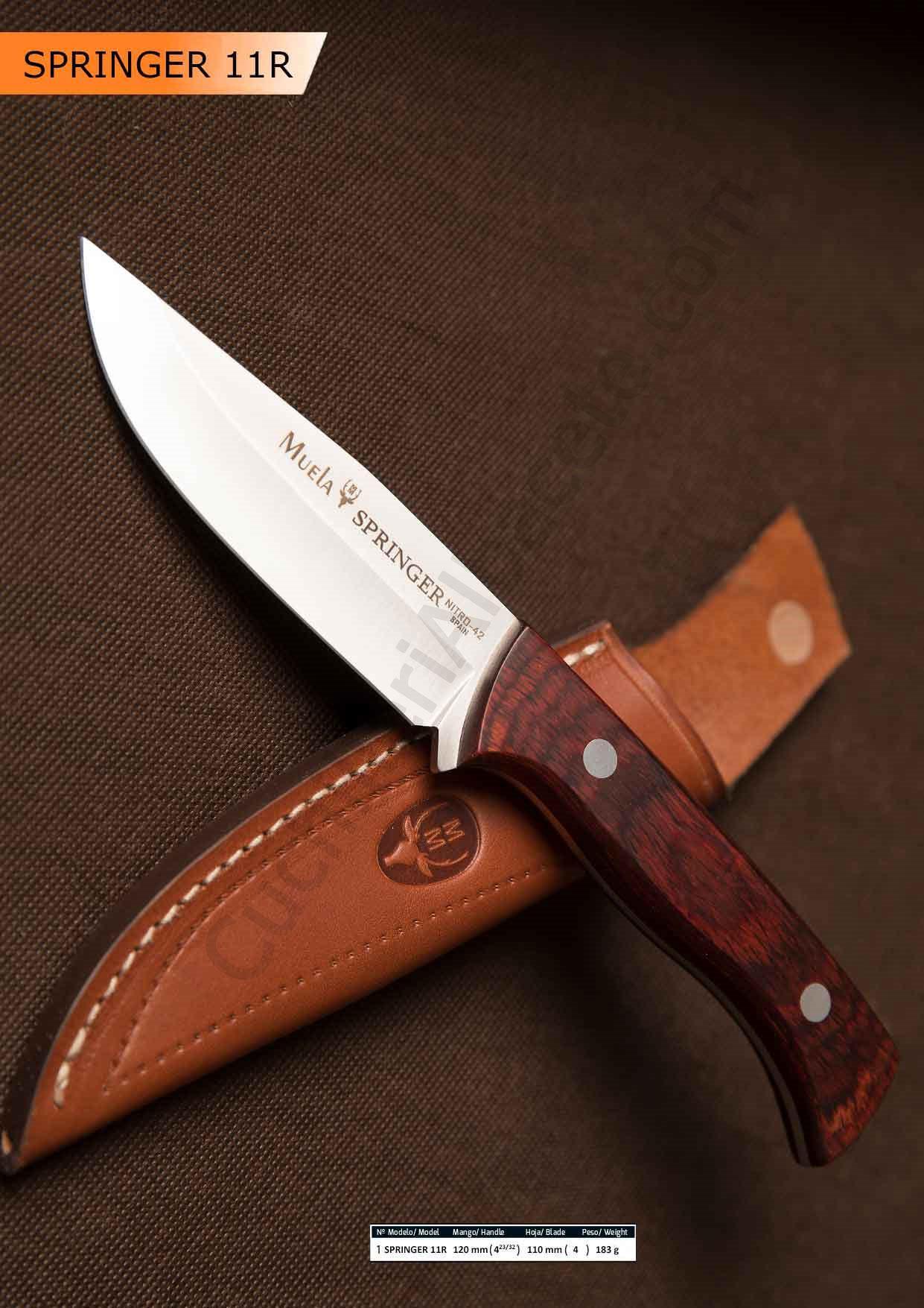 MUELA SPRINGER KNIFE - Muela