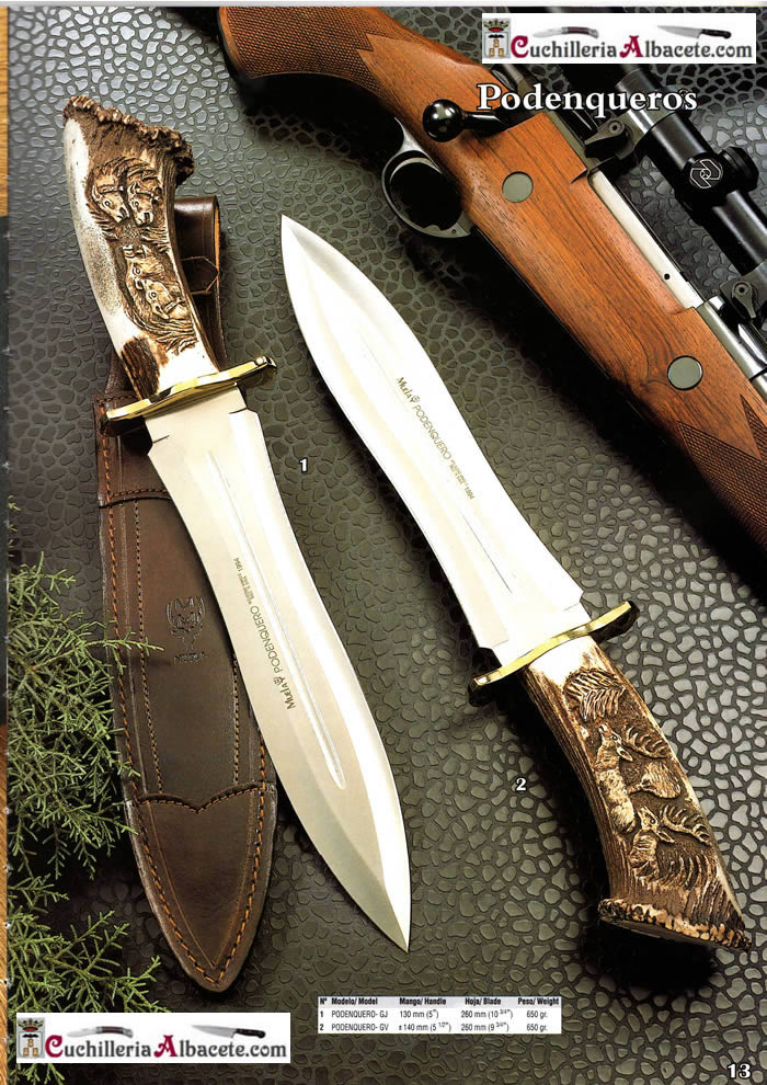 Hunting Knives Muela Podenqueros Muela Hunting Knives