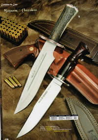 hunting knives  MAGNUM CHEROKEE KNIVES
