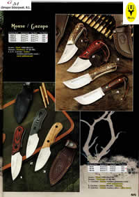 hunting knives  MOUSE GAZAPO IBEX KNIVES
