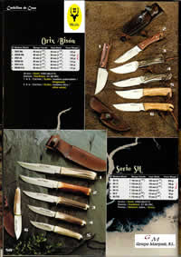 hunting knives mountain knives ORIX BISON SH KNIVES