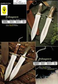 HUNTING KNIVES MUELA PODENQUEROS