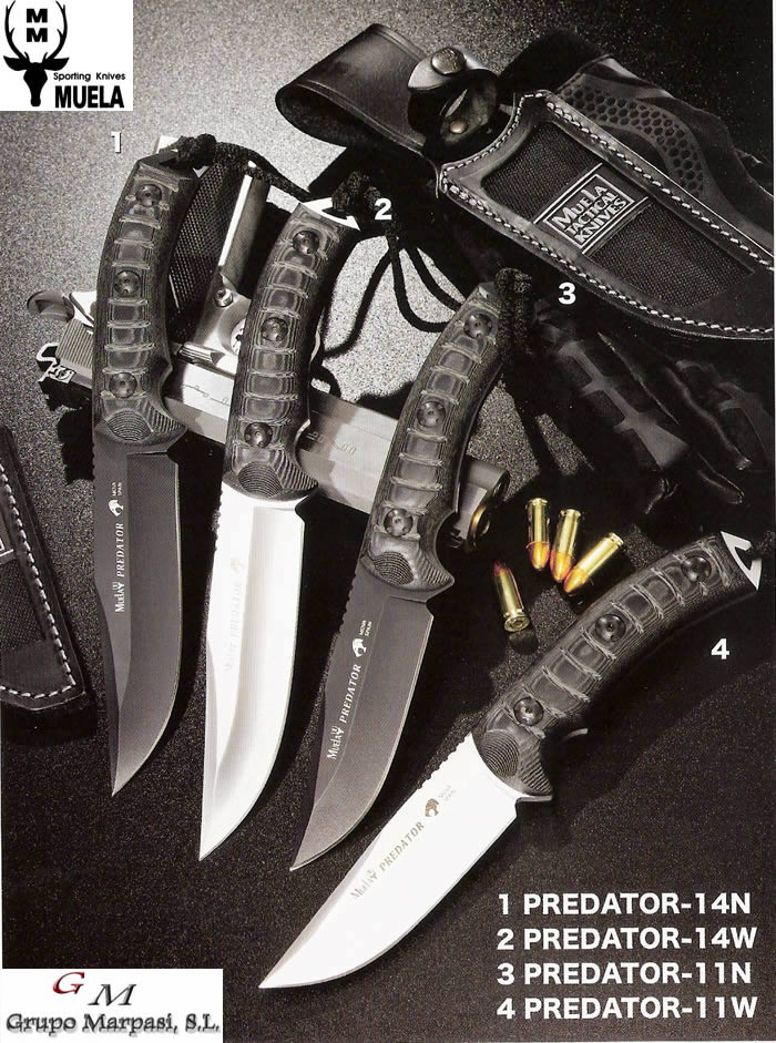 Tactical Knives Muela Predator Muela Tactical Knives