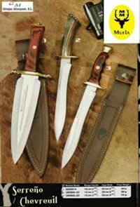 MUELA REMATE CHEVREUIL HUNTING KNIVES