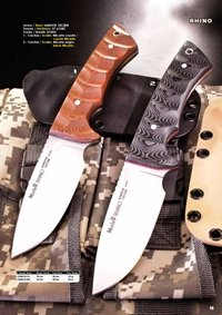 couteaux chasseurs couteaux de chasse RHINO SV