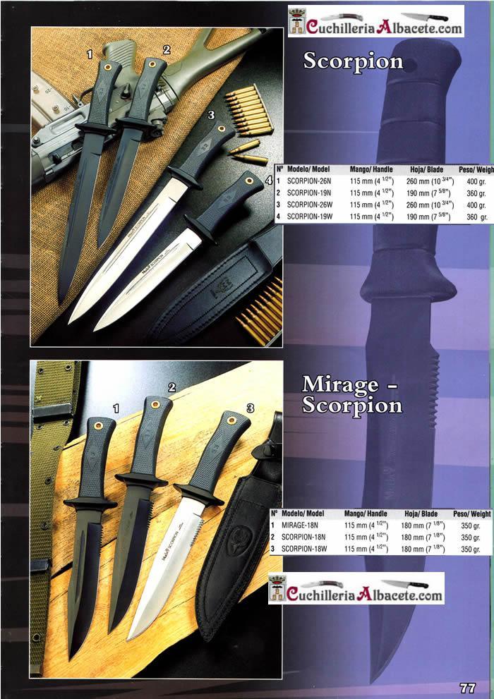 SCORPION MIRAGE - Muela