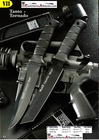 tactical knives  TANTO TORNADO