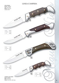 pocketknives hunting CAMPERA LINE