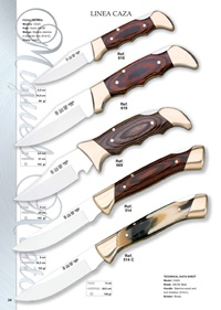 pocketknives hunting CAZA LINE 3