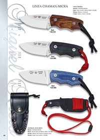 hunting knives  CHAMAN MICRA LINE