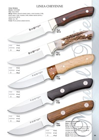 hunting knives  LINEA CHEYENNE 1