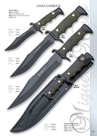 hunting knives  LINEA COMBATE 2