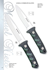 hunting knives  LINEA COMBATE KATEX