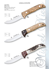 hunting knives  LINEA COYOTE 2