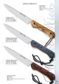 hunting knives artisans CREOLE LINE