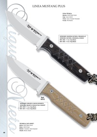 hunting knives  MUSTANG LINE