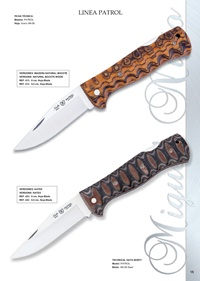 pocketknives hunting LINE PATROL KNIFES