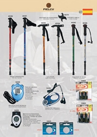 camping and survival walking canes HIKING POLES 1