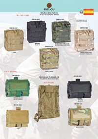 PIELCU MULTIPURPOSE BAGS WITH MOLLE SYSTEM