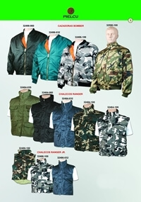 camping and survival  jackets BOMBER  JACKETS AND RANGER  WAISTCOATS