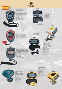 PIELCU STOPWATCHES AND PODOMETERS