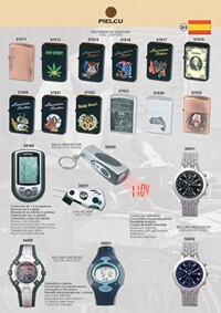 PIELCU LIGHTERS AND SPORTS WATCHES