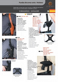 PIELCU HOLSTERS HANDGUN 10