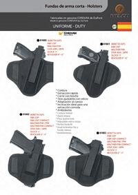 PIELCU HOLSTERS HANDGUN 8