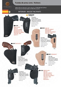 PIELCU HOLSTERS HANDGUN 9