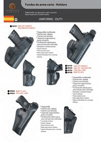 PIELCU HOLSTERS HANDGUN