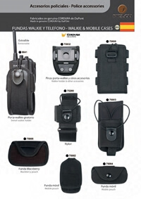 PIELCU WALKIE AND MOBILE CASES