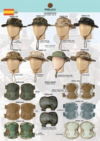 camping and survival  clothing KNEE AND HATS