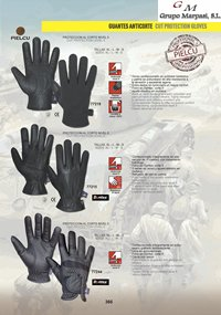 camping y supervivencia  GUANTES ANTICORTE