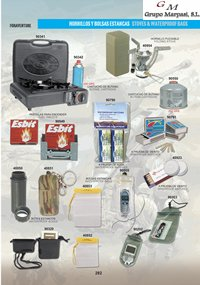 camping and survival  STOVES AND ACCESSORIES