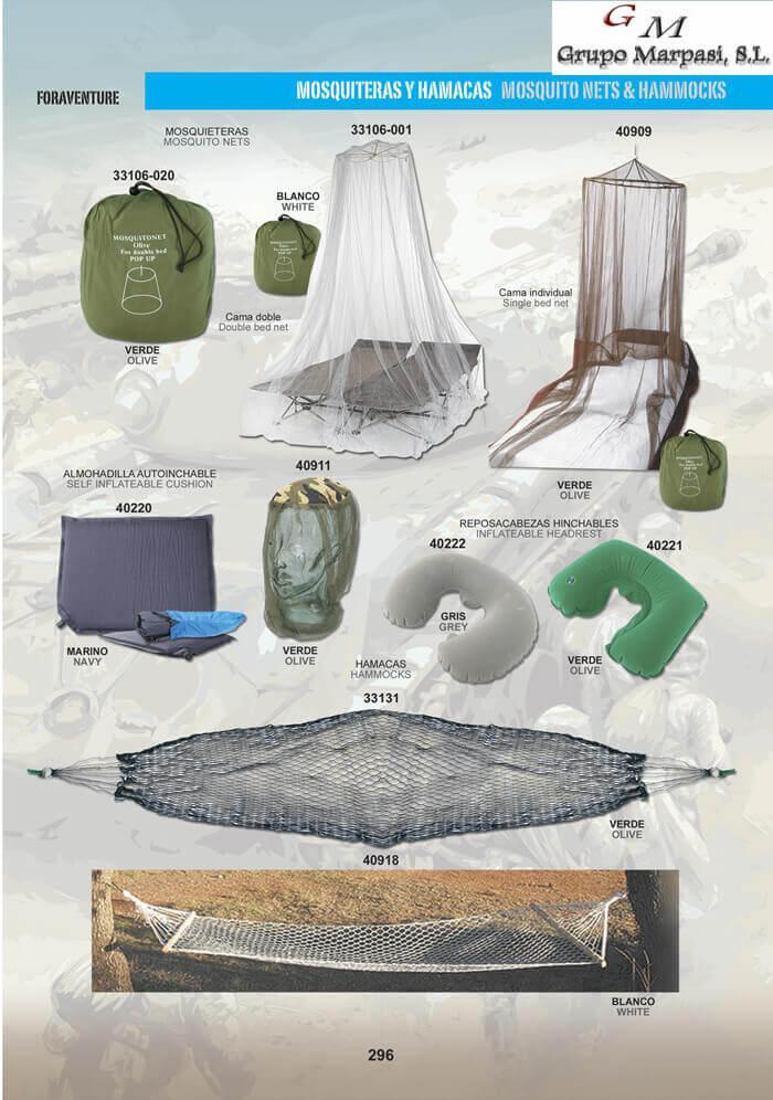 Mosquiteras y accesorios pielcu camping y for Accesorios mosquiteras