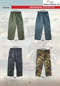 camping and survival pants PANTS WATER