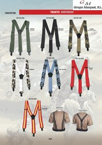 camping and survival  SUSPENDERS